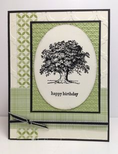 Lovely as a Tree for DD57 by stampwithsandy - Cards and Paper Crafts at Splitcoaststampers