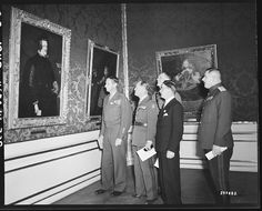 "The Diego Velazquez Painting ""Philip IV King of Spain"", being examined byGEN… The Time In Between, Monument Men, Degenerate Art, Baroque Art, Popular Culture, World War Two, Historical Photos, Wwii, Spain"