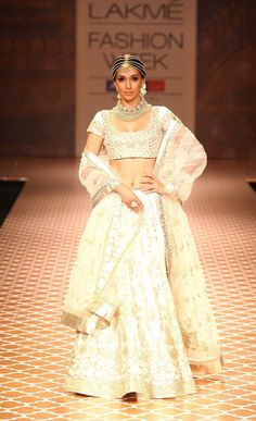 Preeti Desai for Anita Dongre Lakme Fashion Week 2012