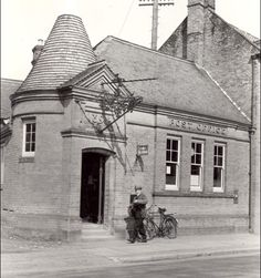 Swaffham Post Office, Norfolk .1937 Yesterday And Today, Back To The Future, Post Office, Best Memories, Norfolk, North West, Branches, Old Photos, Offices