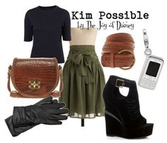 Kim Possible (Kim Possible) Inspired Outfit