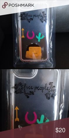 (FREE PEOPLE)Floating phone case I phone 6 Super cute new in package trade 35 Free People Accessories Phone Cases