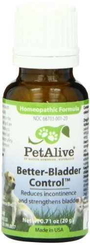 PetAlive Better-Bladder Control, 20-Gram Bottle >>> Read more info by clicking the link on the image.