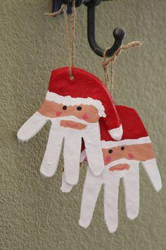 Salt Dough & Santa HandOrnaments (with recipe) - TFC - thefriendcollective