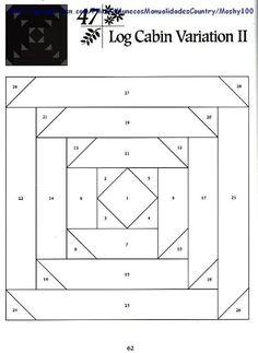 Log Cabin Variation 2