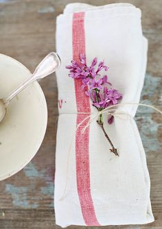 simple, pretty lilac decoration