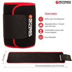 5c95d5cdad Amazon.com   Waist Trimmer Ab Belt Trainer for Faster Weight Loss. Includes  FREE