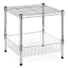 Supreme Stack Shelf With Basket