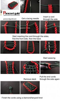 paracord pouch instructions