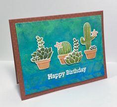 Cactus Happy Birthday - Scrapbook.com