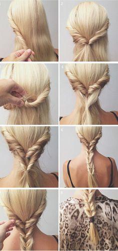 10 idées de coiffures rapides pour toutes celles qui aiment trainer le matin…