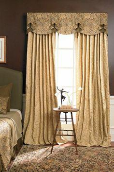 Charleston Bathroom Window Coverings, Bathroom Window Curtains, Valance Window Treatments, Bedroom Windows, Custom Window Treatments, Window Valances, Cornices, Bay Windows, Bedroom Valances