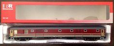 RIVAROSSI Bagagliaio tipo UIC X 1970 - FS Livrea Grigio-Rosso Fegato H0 HR4122