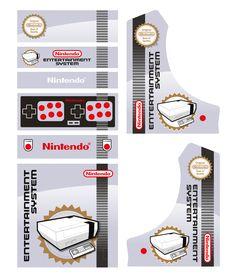 Gaming Cabinet, Diy Arcade Cabinet, Video Game Art, Video Games, Games Room Inspiration, Arcade Bartop, Mini Arcade, Original Nintendo, Retro Games