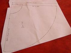 Patrons jupe tissu et jupon tulle - pour agrandir cliquez sur la photo
