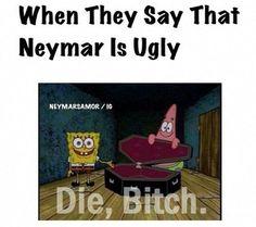 Awww my love Ney! Soccer Memes, Funny Soccer, Cute Memes, Funny Quotes, Neymar Memes, Neymar Pic, Pin Pics, Funny Times, Soccer Players
