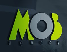 """Check out new work on my @Behance portfolio: """"MOB agency"""" http://be.net/gallery/34041316/MOB-agency"""
