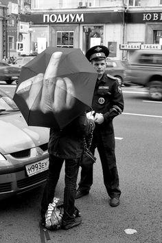 I own this umbrella - Ai WeiWei