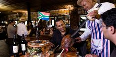 """Johannesburg's Carnivore restaurant, situated in the grounds of Misty Hills Country Hotel, needs little introduction. Renowned for its positioning statement - """"Africa's Greatest Eating Experience""""- it is a cornerstone of the Recreation Africa Group.   In the sixteen years since it first opened, thousands of local and international visitors have savoured its unique dining concept."""