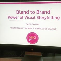 Despite the rain 20 women showed up to the @believeinspiregrow meeting in Montville to learn about the power of visual storytelling. It was an honor to share my passion for branding and to answer their questions on how to stand out with photography. Hope I inspired them to be the face of their brand. Remember your story is too good not to share!