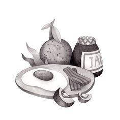Inktober, Day 10. Olga Svart Illustration