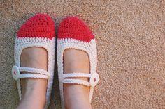 Crochet-Along: Mary Jane Slippers
