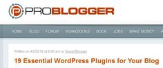 19 Essential WordPress Plugins for Your Blog