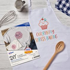 Create fun a custom aprons from the comfort of your own home! Use Avery Fabric Transfers (3271) to easily iron on your design. You can also browse our hundreds of free templates.