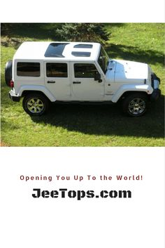 See the world differently with #JeeTops! Contact us today to learn more: http://www.jeetop.com #Jeep #Wrangler #JeepLife #JeepWrangler