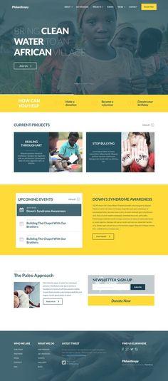 The Best Non Profit WordPress Themes philanthropy