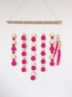 Wall Hangings, Girl Room, Cloud, My Etsy Shop, Candy, Girls, Pink, Daughters, Girl Rooms