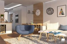 Projekt domu - O110 - Obývačka Dead Space, Plan Design, Bungalow, Projects To Try, Floor Plans, Dining Table, Flooring, How To Plan, Bedroom