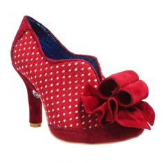 Irregular choice Hook Line and Sinker is a perfect bootie for a vintage wardrobe