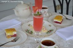 Lady's Slipper Afternoon Tea