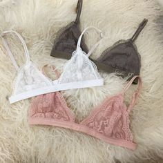Bella Lace Triangle Bralette