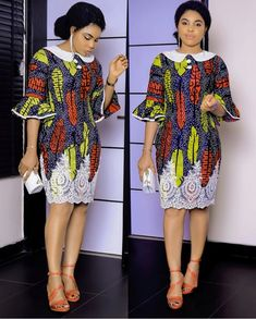 Ankara Short Gown Styles for Smart Ladies Short African Dresses, Ankara Short Gown Styles, Short Gowns, African Print Dresses, Ankara Gowns, African Fashion Ankara, Latest African Fashion Dresses, African Print Fashion, Africa Fashion