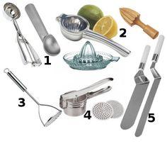 Pinças – Esplemedor - Utensílios de cozinha profissional e básico - Novas Dicas
