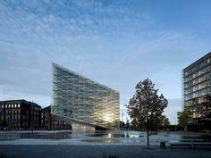 Bankgebäude The Crystal in Kopenhagen - Glas - Büro/Verwaltung - baunetzwissen.de