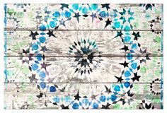 Kenitra Blue/Green, Reclaimed Barn Wood on OneKingsLane.com  A visionary artist, Parvez Taj creates uniquely evocative works for the wall. Taj freely mixes media, including photography, software, and acrylics, to achieve his bold effects. He works with UV-cured inks and recycled wood, often reclaimed from rural buildings throughout the U.S., to minimize his impact on the environment. Taj was born in Canada and currently lives and works in Los Angeles. His works are entirely made in…