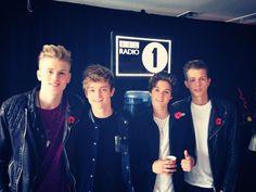 The vamps at radio 1