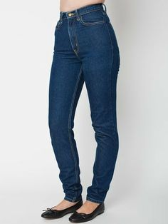 American Apparel high waist jeans MADE IN USA