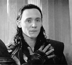 Tom Hiddleston - gif Gosh, he's such a great actor.