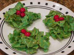 Valerie's Recipe Box: Cereal Christmas Wreaths