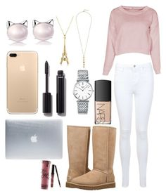 """""""Fall outfit"""" by jelena-hadzimusovic on Polyvore featuring moda, Miss Selfridge, UGG, Longines, Cole Haan, Incase, Chanel, NARS Cosmetics i Kylie Cosmetics"""
