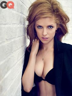 Anna Kendrick Strips Down to a Bra for GQ - Anna Kendrick, George ...