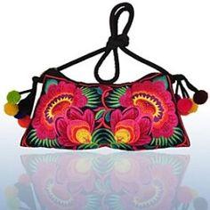2014New Chinese Folk Style Fashion Women Handmade Embroidered Women's Shoulder Handbags Messenger Bags Crossbody