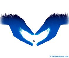 Clever, Minimalistic Illustrations Use Negative Space To Tell Stories - DesignTAXI.com