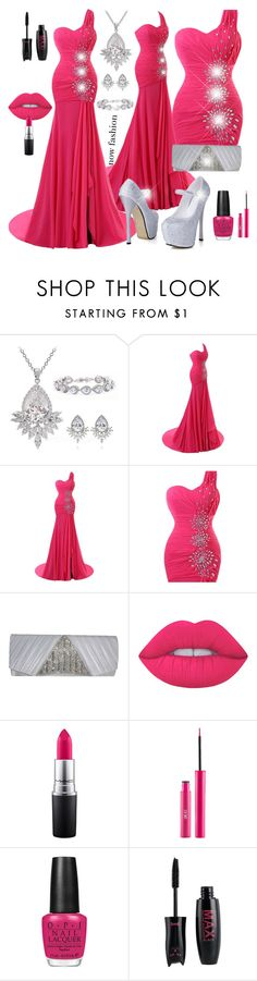 """""""MAHMMOD"""" by mahmmodhafes on Polyvore featuring Lime Crime, MAC Cosmetics and OPI"""