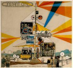 Self Destruct Environ Pole - Archigram Archival Project