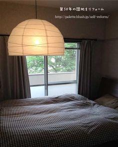 IKEAの照明 寝室3